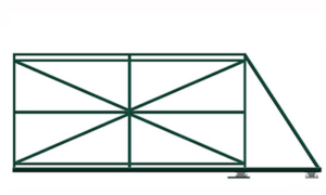 рама откатных ворот3